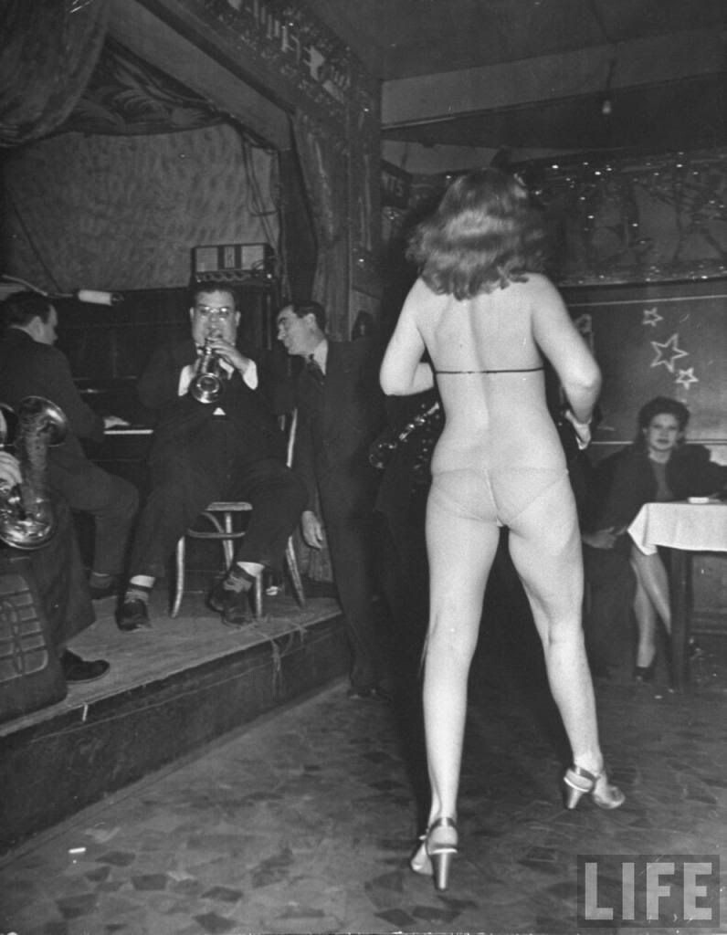 Strip Club in New Orleans in 1943