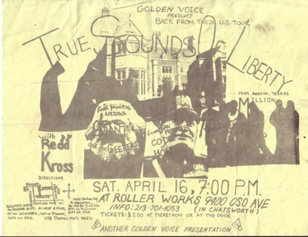 Awesome OG Punk Fliers