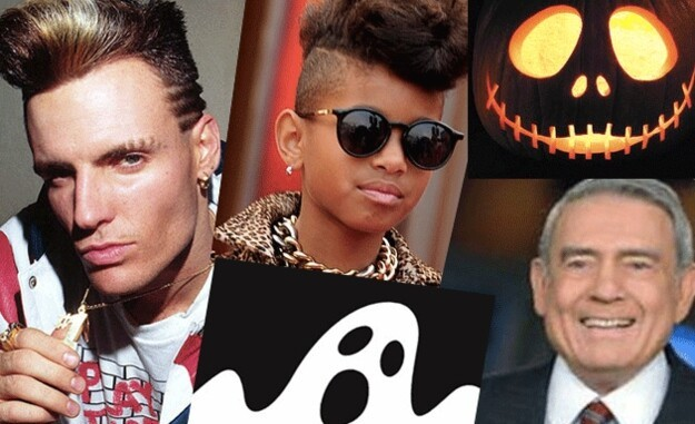 Vanilla Ice, Willow Smith, and Dan Rather were all born on October 31st