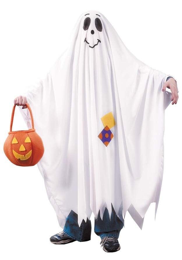 Finally, your ghost costume isn't authentic unless you poop in it.