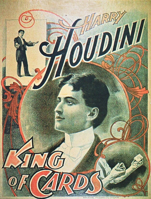Magician Harry Houdini died on Halloween.