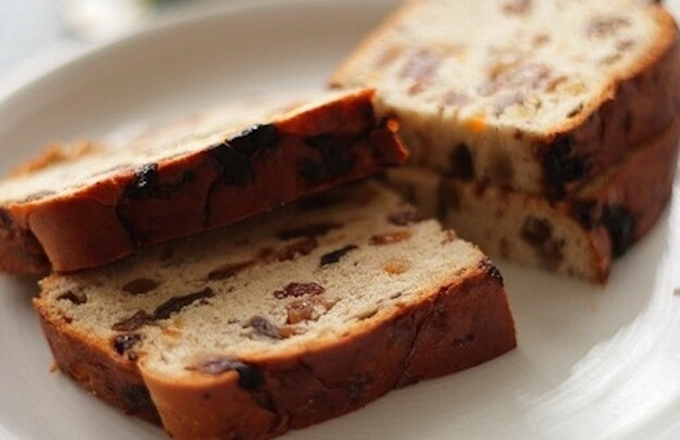 Barmbrack used to be a traditional food eaten on Halloween.