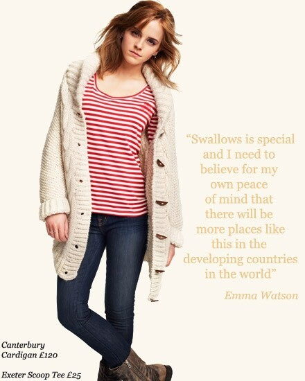 Emma Watson Endorsed Fair Trade Fashion