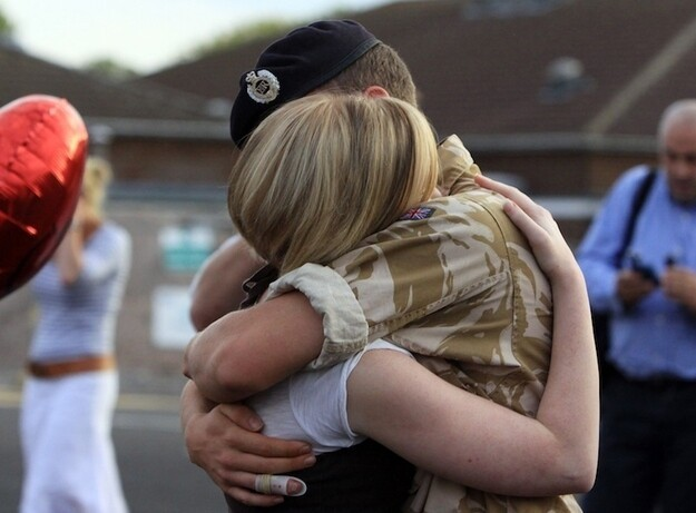 Heartwarming Photos Of Military Families Reunited