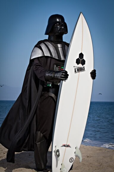 Darth Vader Goes On Vacation