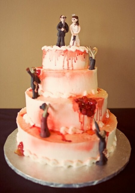 Scariest Zombie Wedding Cakes