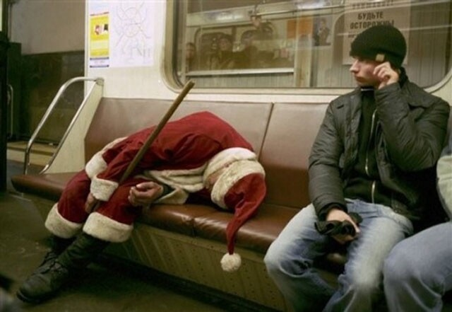 Do not do this on public transit!
