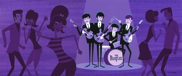 Stunning Beatles-Inspired Art
