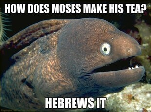Bad Jokes. We All have a Bad Joke Eel in our friend Circle.