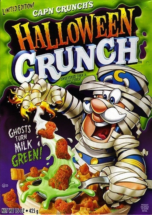 Most Spooktacular Halloween Cereals in the History of Cereal