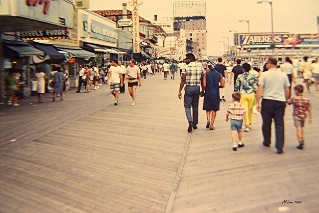Then and Now: A Tribute to the Atlantic City Boardwalk
