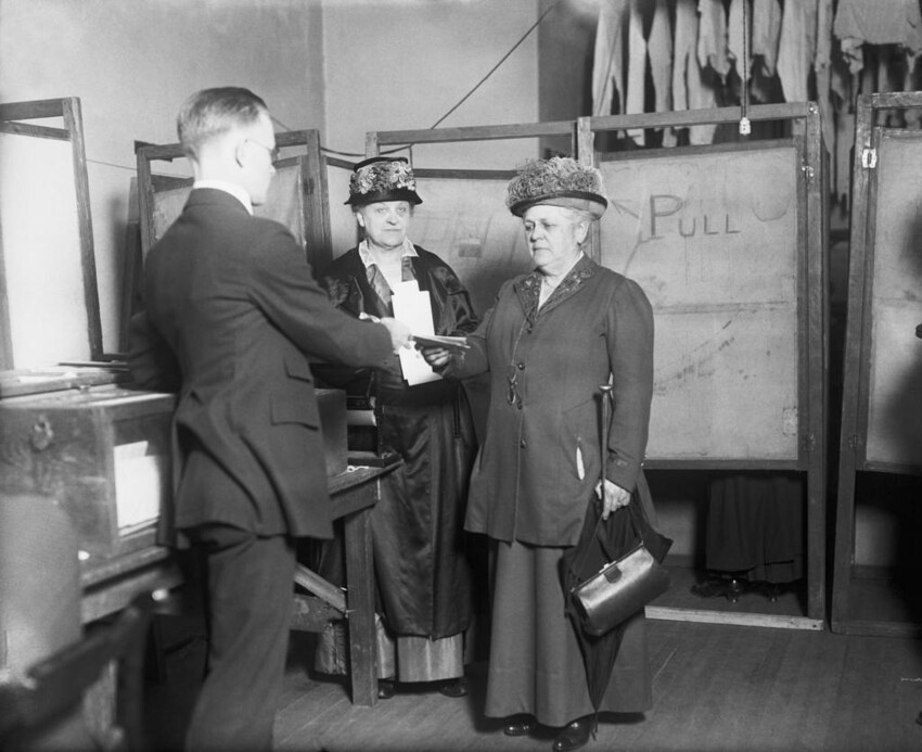 92 Years of Women Voting