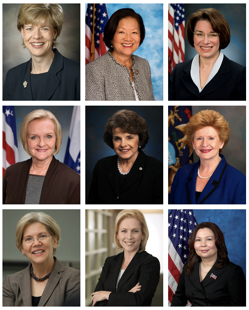 We have a record number of women in Senate!