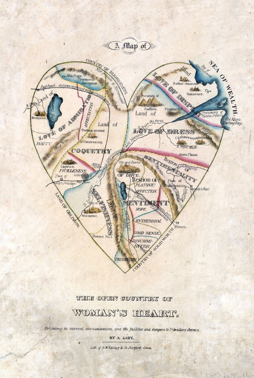 A Map Of A Woman's Heart