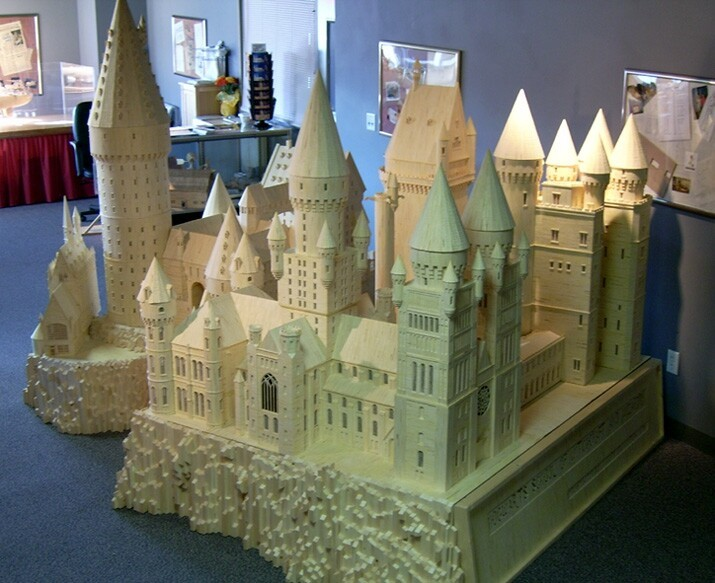 Awesome Use of 600k Matchsticks