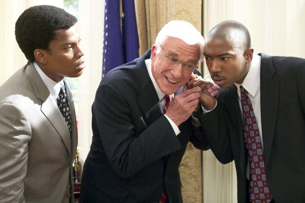"Leslie Nielsen in ""Scary Movie 4"""