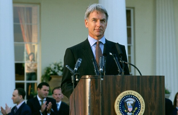"Mark Harmon in ""Chasing Liberty"""