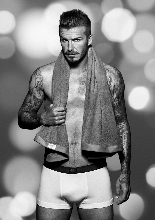 David Beckham Covers Up For His Winter Underwear Campaign