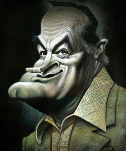 Caricatures by David O'Keefe