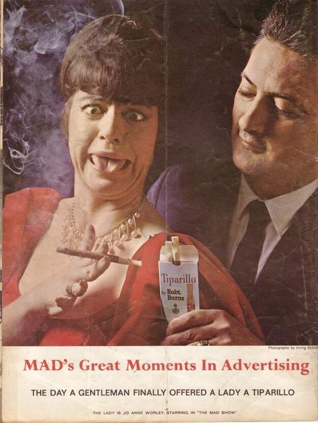 "Classic Spoof Ads By ""Mad"" Magazine"