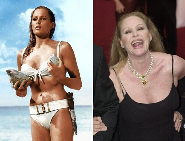 Bond Girls Then And Now