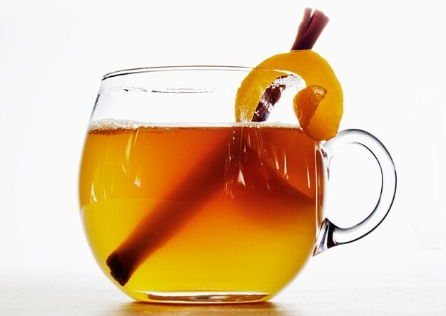 Honey-Bourbon Hot Toddy