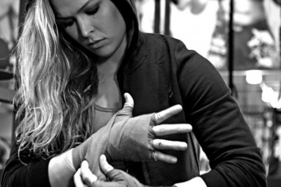 Ronda Rousey Becomes 1st Female Fighter to Join the UFC