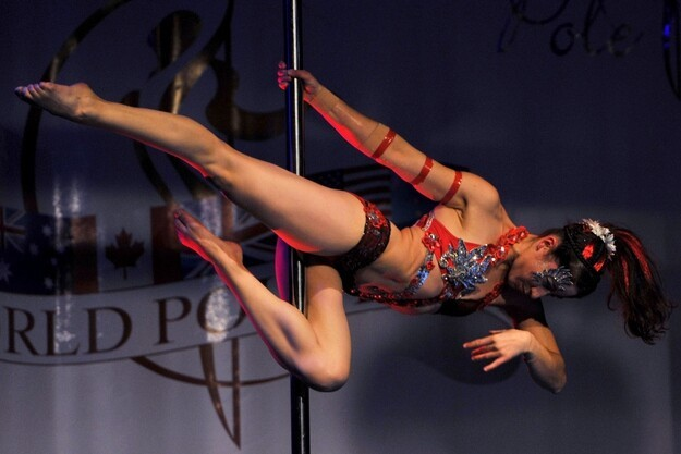 Impressive Photos From The World Pole Dancing Championships