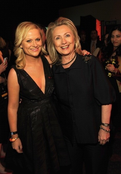 Amy Poehler took a picture with her before.
