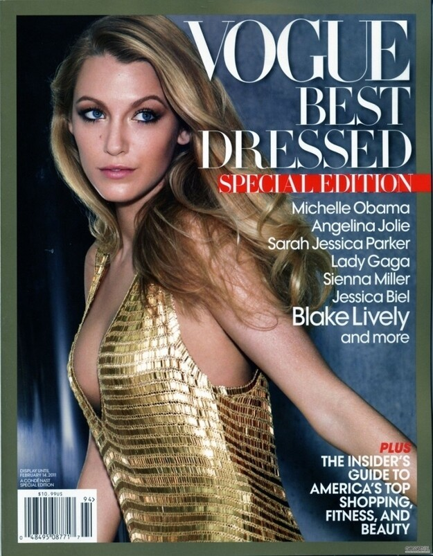 "In 2010, during its Blake Lively obsession phase, ""Vogue"" gave Blake Lively the ""Best Dressed"" title."