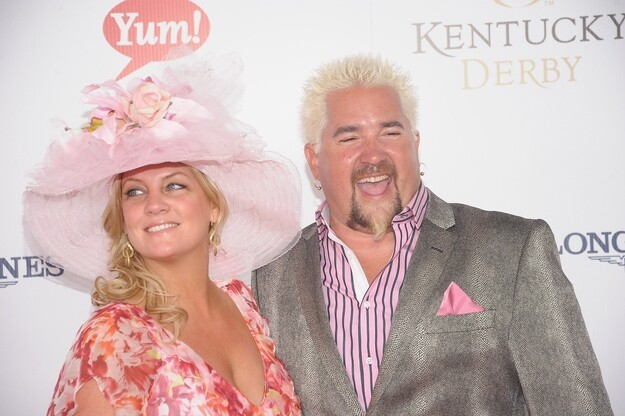 When you went to the Kentucky Derby in May, did you notice that your pink shirt — the one that glows like Pepto Bismol —
