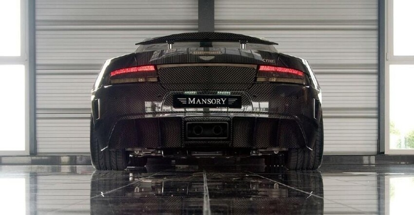 The Mansory Cyrus CF Aston Martin DB9/DBS in high-res