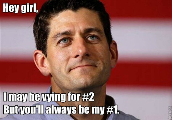 "Trending Paul Ryan 'Hey Girl"" Meme"