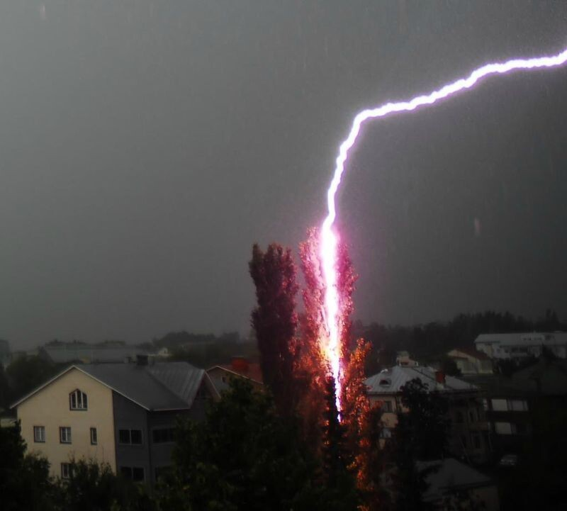 A Lightning Strike
