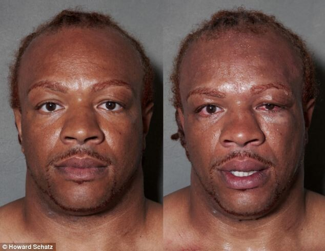 Boxers Before and After the Fight