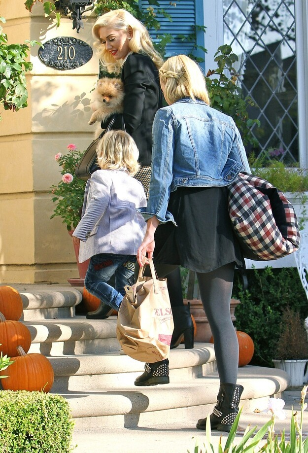 Gwen Stefani And Gavin Rossdale's Thanksgiving