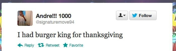 People Who Had The Worst Thanksgiving Ever