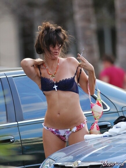 Paz de la Huerta Changes In Public