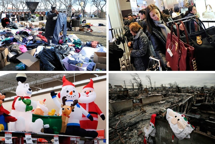 Holidays for Sandy Survivors
