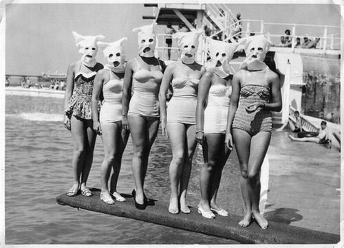 Utterly Bizarre & Unusual B&W Photographs