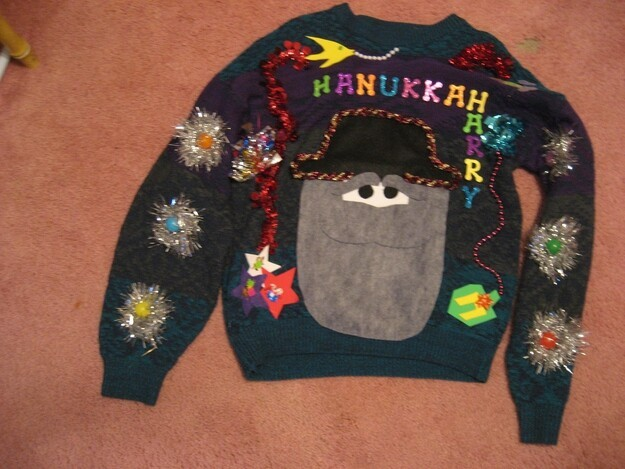 Ugly Hanukkah Sweaters, They Do Exist!