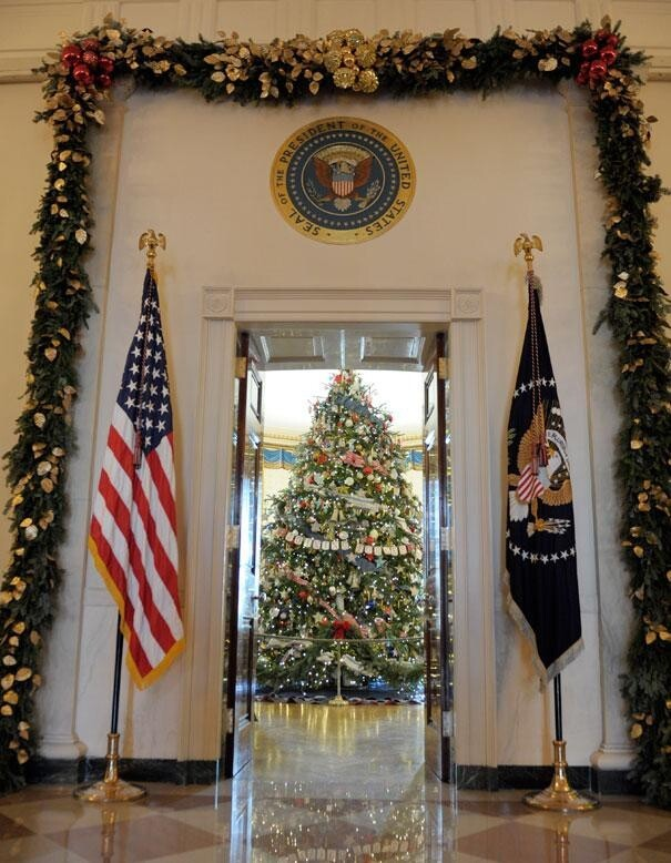 White House Does Christmas