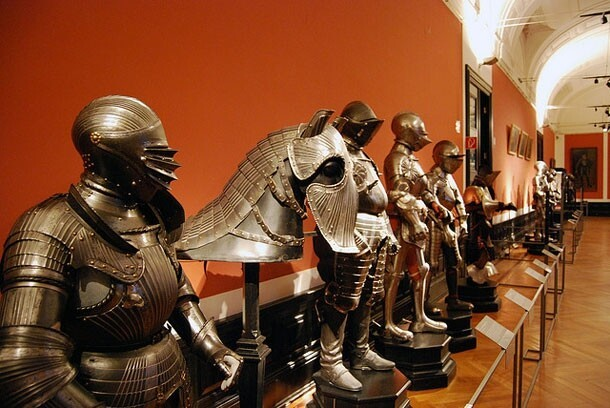 Epic Photographs Of Medieval Armor & Weapons