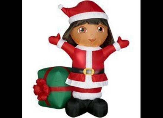 Help Dora with Christmas by putting one of these out on your lawn!