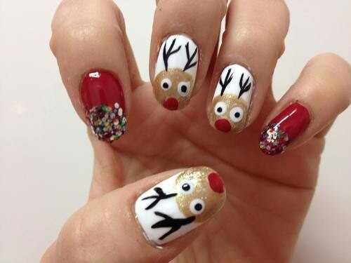 Fun & Flirty Holiday Nail Art