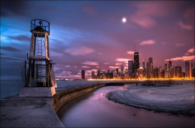 Views Of The Beautiful Chicago