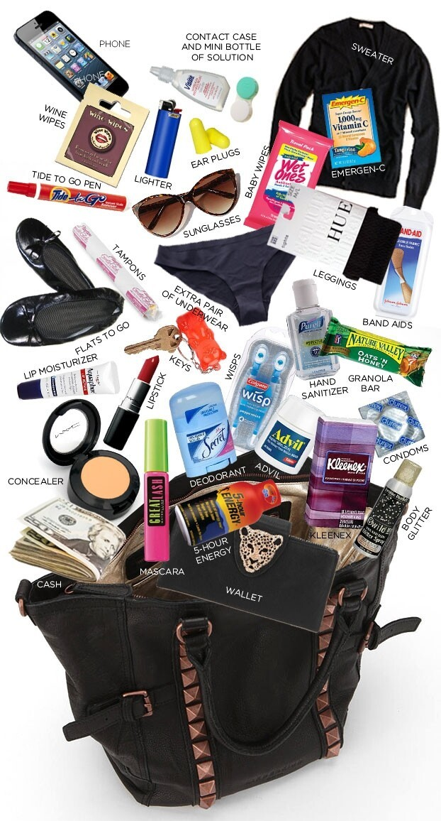 What's In Your Bag On New Year's Eve?