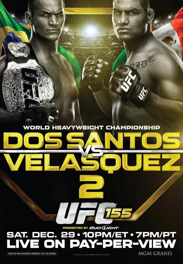 Junior Dos Santos vs. Cain Velasquez