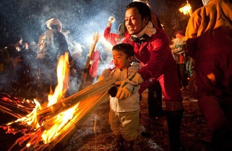 A Festival for Pyromaniacs in Japan