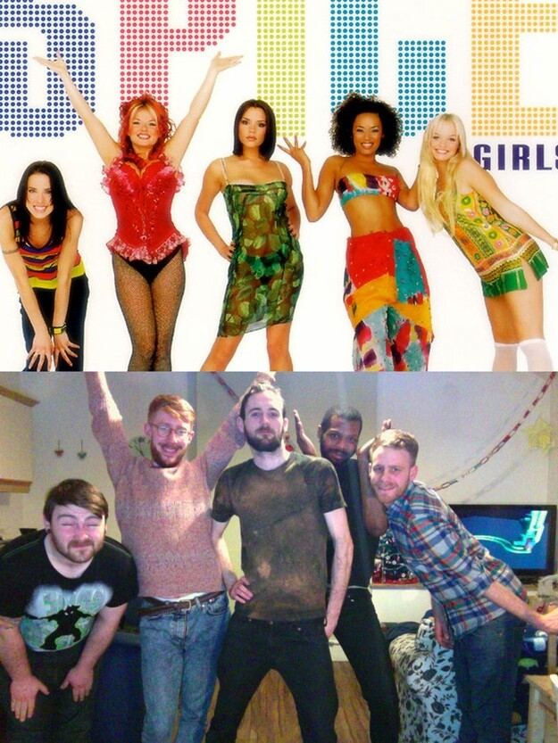 Gay Dudes Recreate Spice Girls Moments